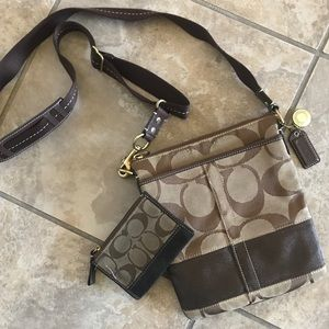 Coach | Crossbody and Wallet